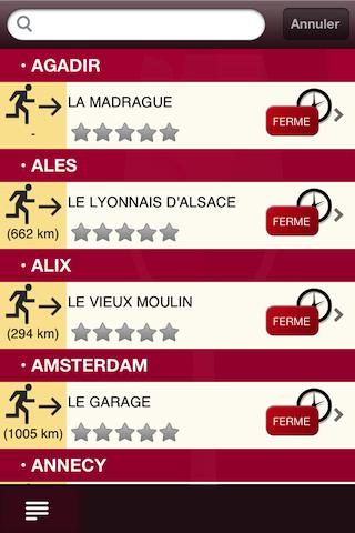 Bistrots Beaujolais- screenshot