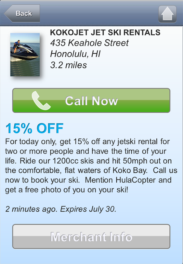 HulaCopter Hawaii- screenshot
