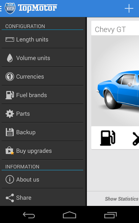Top Motor - Car & Fuel Manager- screenshot