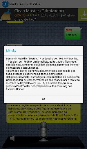 【免費生產應用App】Minsky - Assistente Virtual-APP點子