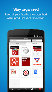 Opera Mini – Fast web browser - screenshot thumbnail