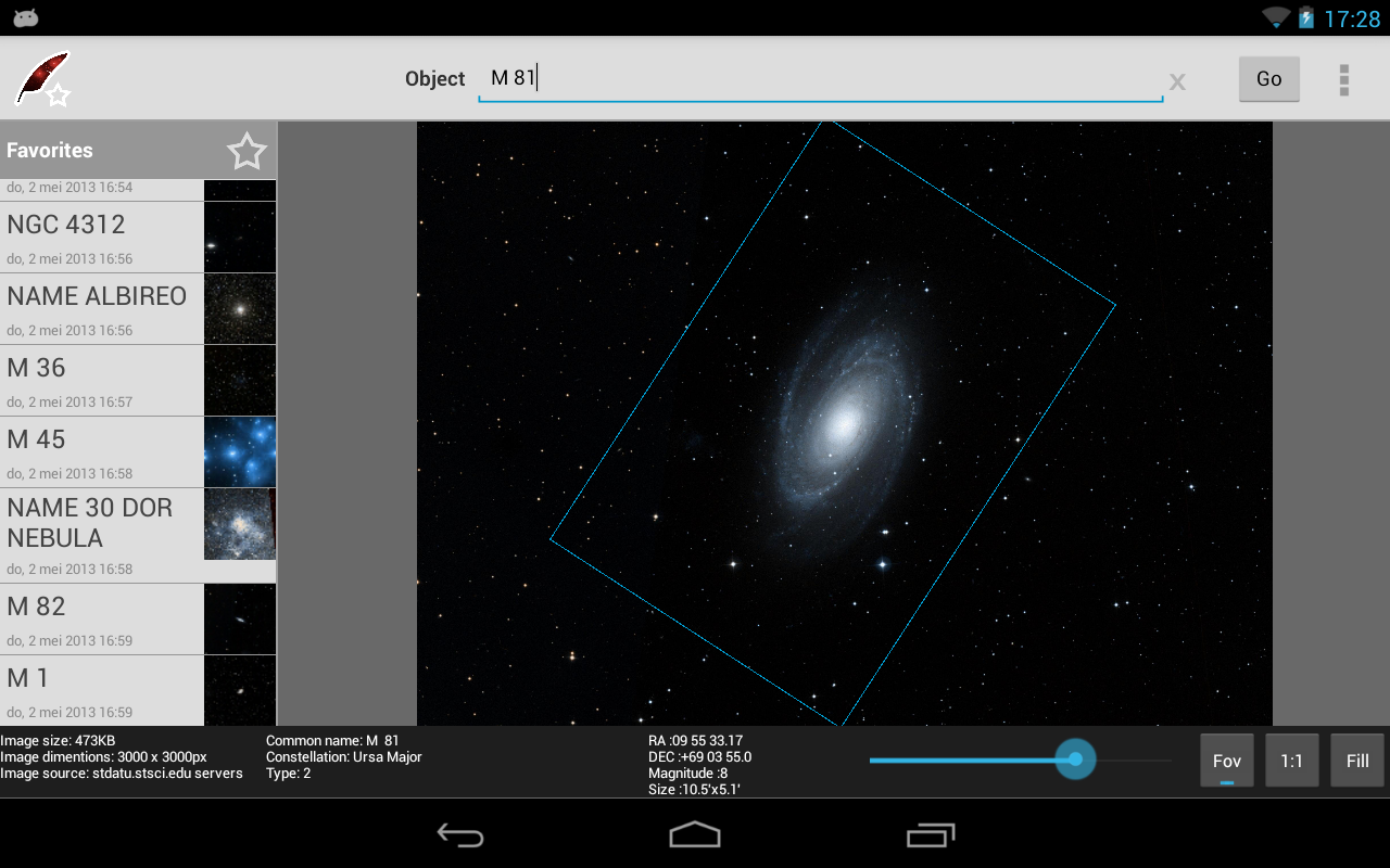 DSS Explorer - screenshot