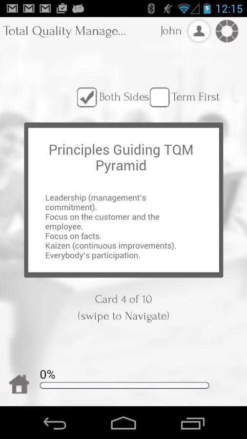 Learn Quality Management- screenshot