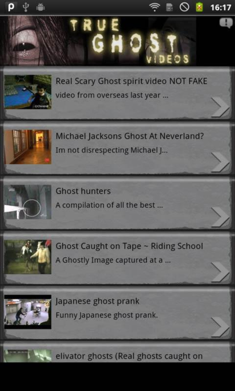 True Ghost Videos - screenshot
