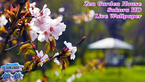 玩個人化App|Zen Garden House Sakura HD免費|APP試玩