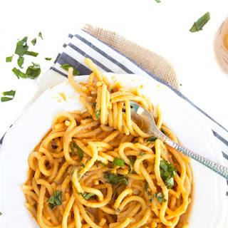 Creamy Vegan Roasted Tomato and Eggplant Sauce
