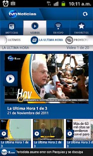 TVN Noticias - screenshot thumbnail