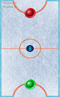 Screenshot of Air hockey arcade game
