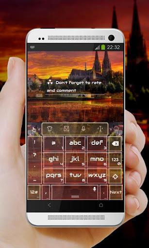 玩免費個人化APP|下載紅城堡 TouchPal Theme app不用錢|硬是要APP