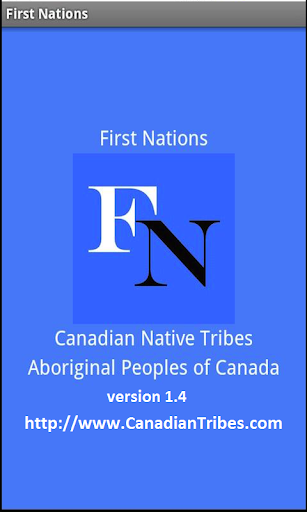 First Nations Canadian Tribes