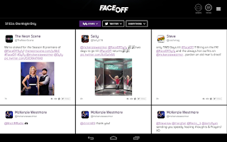 Screenshot of Syfy Sync