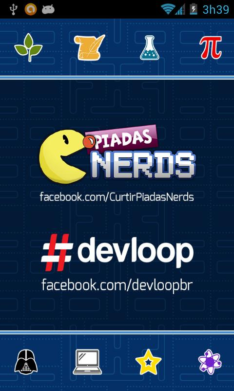 Piadas Nerds- screenshot