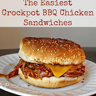 The Easiest Crockpot BBQ Chicken.