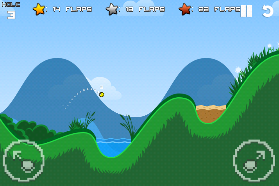 Flappy Golf screenshot #3