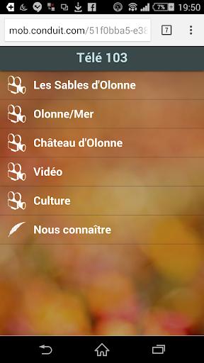 【免費新聞App】Télé 103 Les Sables-APP點子