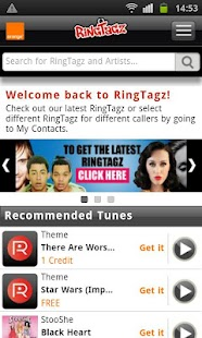 RingTagz – Music for Callers - screenshot thumbnail
