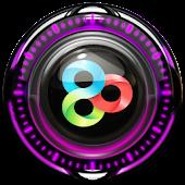 GO Launcher Theme Pink Glow
