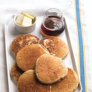 Oatmeal Pancakes with Cinnamon.