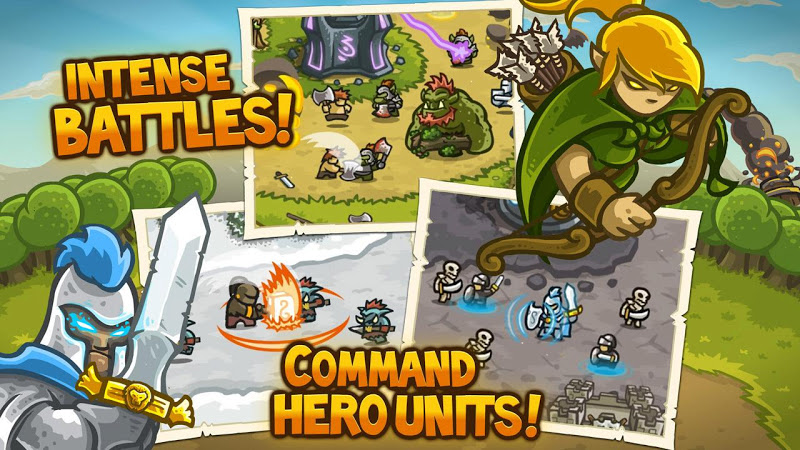 Kingdom Rush v3.0.3 (Mod Gems)