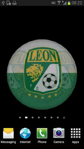 Ball 3D Club León LWP