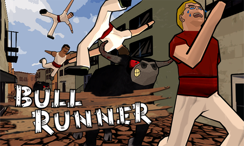 Bull Runner Free- screenshot