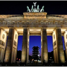Brandenburg Gate in Berlin by Doreen L - Buildings & Architecture Public & Historical (  )