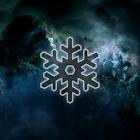 Abstract Grey Sky Galaxy Theme icon