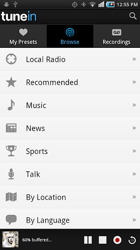 download tunein pro android