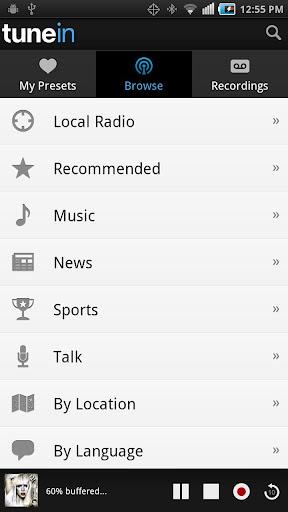 TuneIn Radio Pro 6.0
