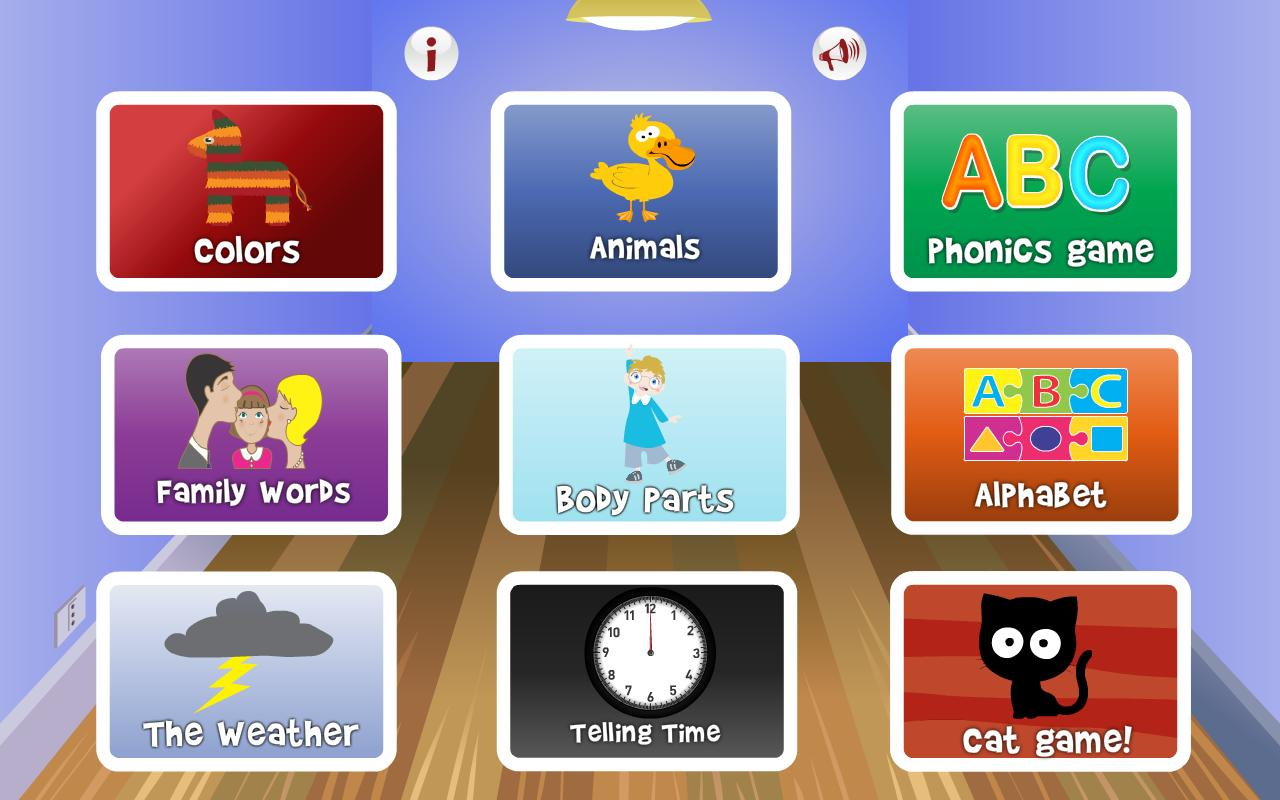 English for Kids: Words & Phon - screenshot