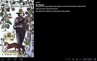 Screenshot of LiteraTarotBot US