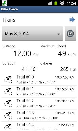 Bike Trace Free - GPS tracker