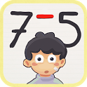 Substractions for kids icon