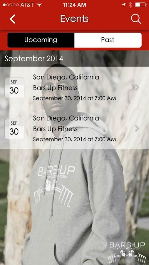 Bars Up Fitness- screenshot
