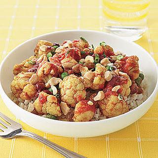 Cauliflower-Cashew Curry.
