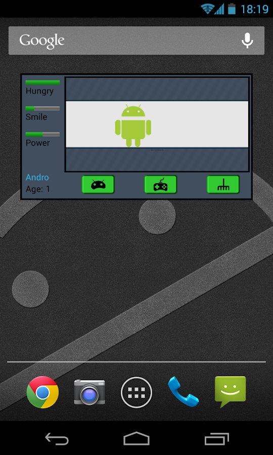 Widget Android Tamago Free - screenshot