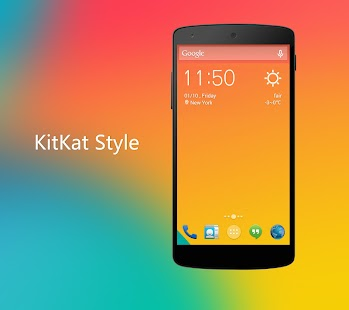 Solo Launcher ★KitKat UI★ - screenshot thumbnail