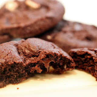 Double Chocolate Mint Cookies.