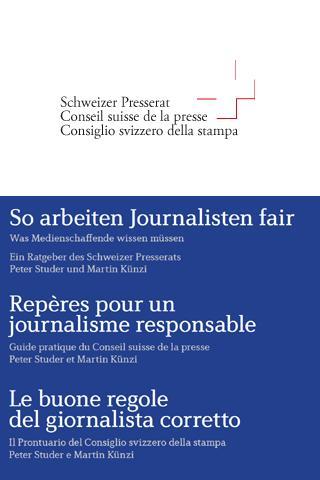 Ratgeber Presserat- screenshot