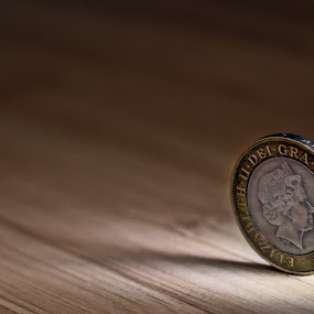 The Queen's Head by Adele Price - Artistic Objects Other Objects ( circles, coins, mint, queen's head, pound,  )