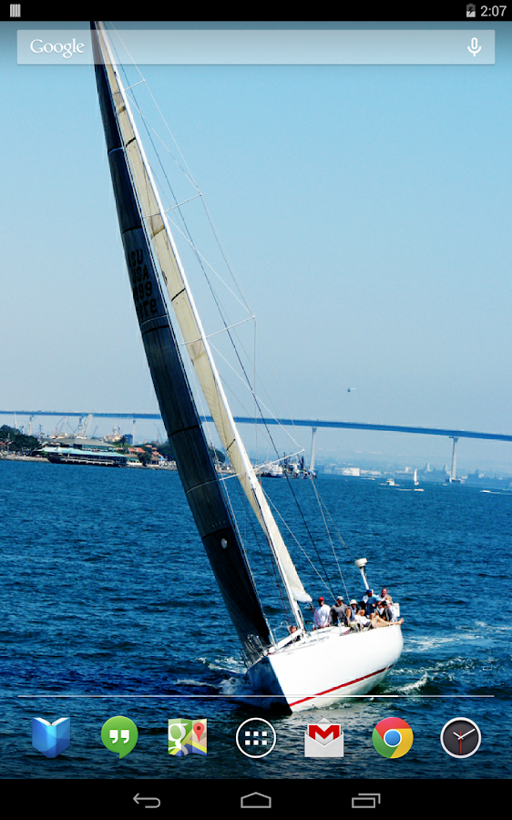 Sailboats Live Wallpaper- screenshot