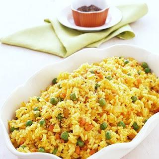 Yellow Rice Pilaf.