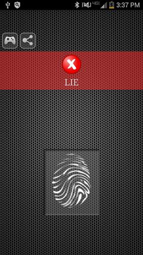 無料模拟Appのうそ発見器 - ジョーク 記事Game