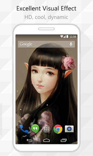 Elf Girl Live Wallpaper