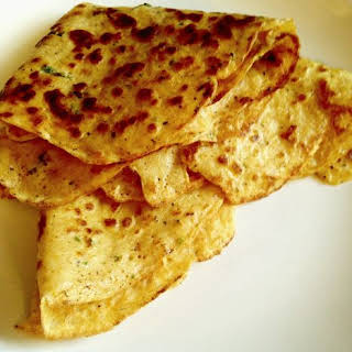 Spicy End-of-Summer Roasted Corn Crepes.