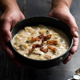 30 minute New England Clam Chowder.