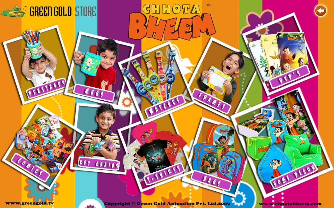 Chhota Bheem and Damyaan - screenshot