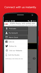 ESPN 1410 WING AM- screenshot thumbnail