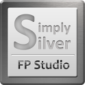 SimplySilver GO Launcher Theme icon