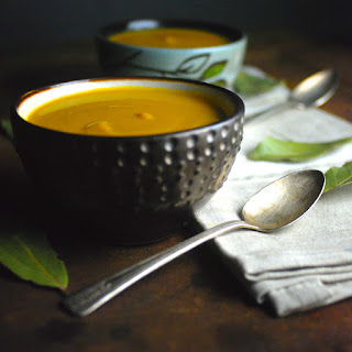 Curried Parsnip and Carrot Soup